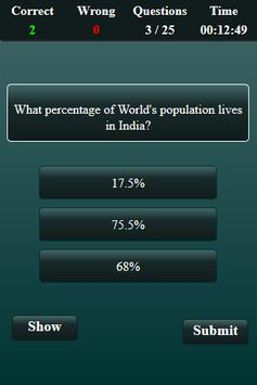 Population in India Quiz screenshot 16