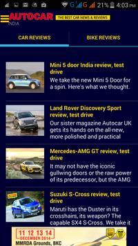 Autocar India screenshot 3