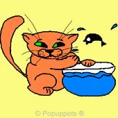 Cartoon Pet Kitty Cat Kitten icon