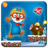Pororо Run Adventure Free Game icon