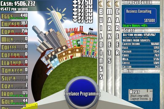Capital City Clicker apk screenshot