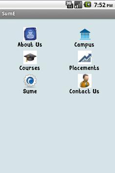 Sume App Demo apk screenshot