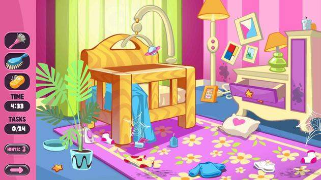 Let's Clean Up : Home cleaning games screenshot 1