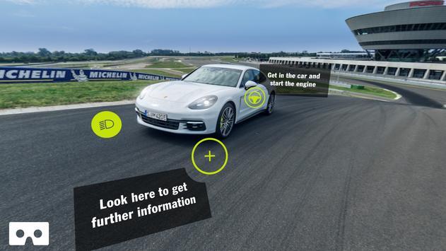 Porsche Panamera VR poster