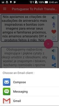 Portuguese Polish Translator apk screenshot