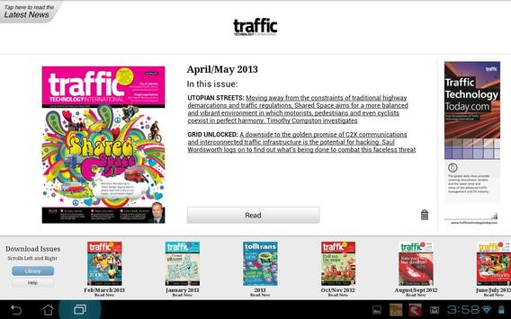 Traffic Technology Intl poster