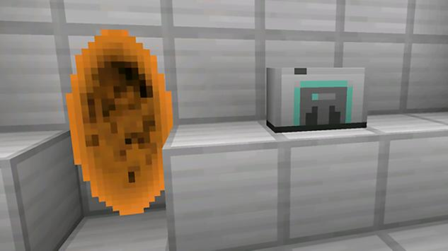 Portal mod for Minecraft captura de pantalla 2