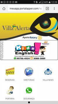 Villa alerta apk screenshot