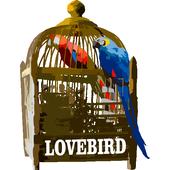 Kicau Lovebird Ngekek Panjang Offline icon