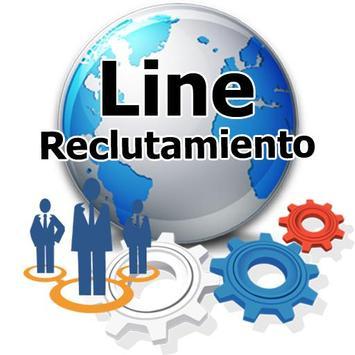 Line Reclutamiento poster
