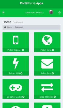 Portal Pulsa - Distributor Pulsa Termurah screenshot 1