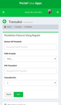 Portal Pulsa - Distributor Pulsa Termurah screenshot 2
