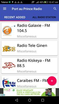 Port au Prince Radio apk screenshot