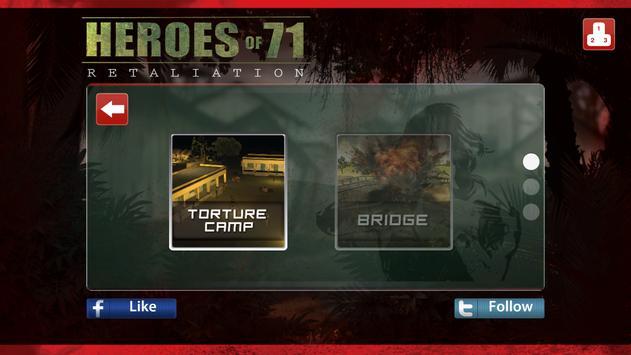 Heroes of 71 : Retaliation apk screenshot