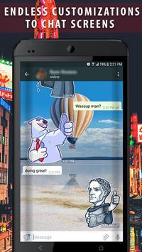 Wassup Messenger plus Caller ID apk screenshot
