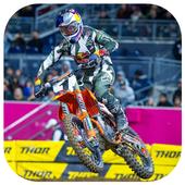 Dirt Bike Supercross Wallpaper icon