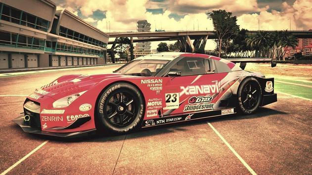 Car racing wallpaper apk screenshot