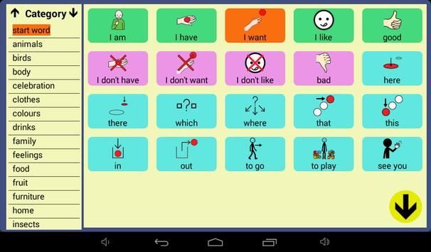 User Symbols AAC Lite screenshot 6