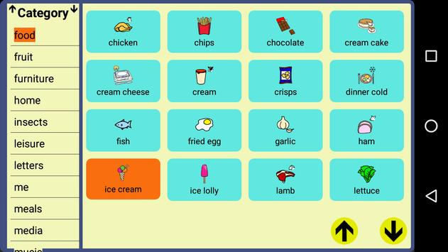 User Symbols AAC Lite screenshot 1