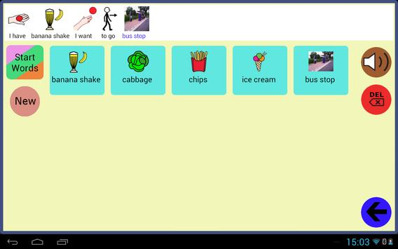 User Symbols AAC Lite apk screenshot