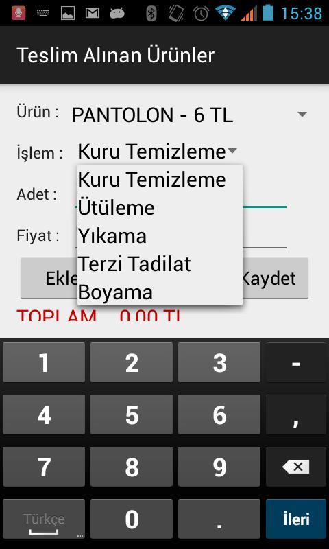 Kuru Temizleme Programı For Android Apk Download