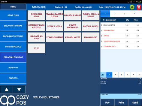 Cozy Order Taker screenshot 4