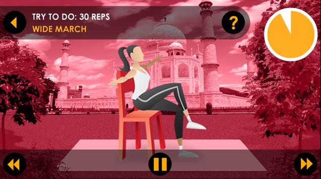 20 Min Beginners Workout Free apk screenshot