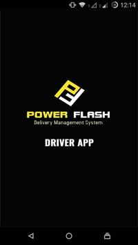 Power Flash Driver App poster