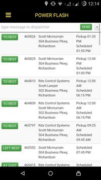 Power Flash Driver App screenshot 1