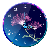 Beautiful Flower Clock icon