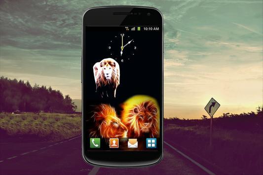 Lion Clock apk screenshot