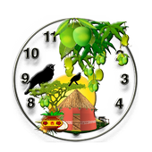 Birds Clock icon