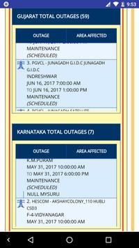 MyUrja Mitra - Power Cut Alert screenshot 4