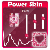 Petal Poweramp Skin icon