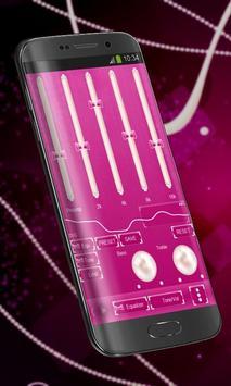 Pink pearl Poweramp Skin screenshot 1