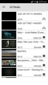 Poweramp Video Player screenshot 2