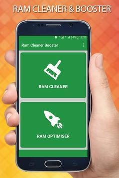 Ram Cleaner / Ram booster poster