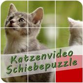 Katzenvideo Schiebepuzzle icon