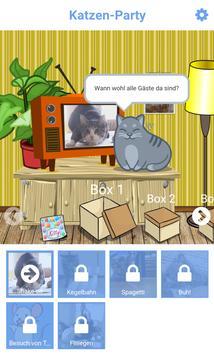 Katzenvideo Schiebepuzzle screenshot 4