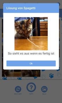 Katzenvideo Schiebepuzzle screenshot 1