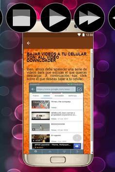 Descargar Videos de internet a mi Celular Tutorial screenshot 4