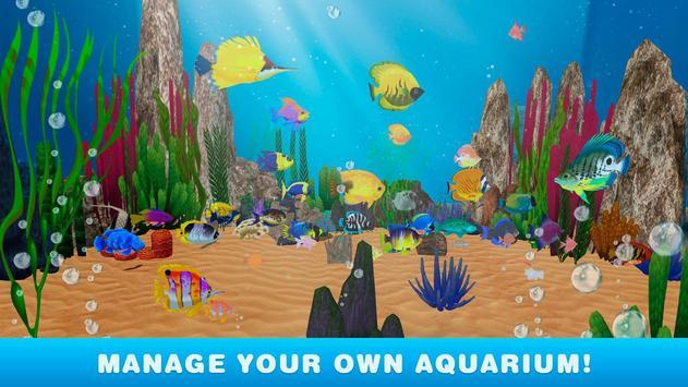 My Virtual Aquarium Simulator poster
