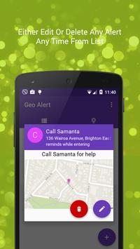 Geo Alert : Location Reminder apk screenshot