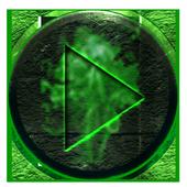 Poweramp Skin AntraX icon