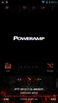 Poweramp Skin Dragon poster