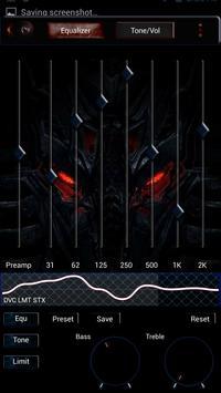 Poweramp Skin Dragon apk screenshot