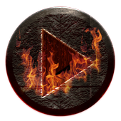 Poweramp Skin Inferno icon