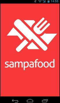Sampa Food: Guia Restaurantes poster