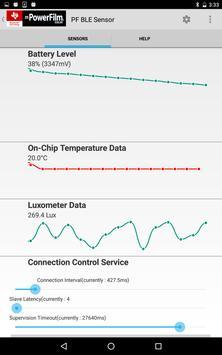 LES100 Data Monitor poster