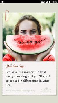 Power Of Positive Mornings Daily screenshot 2